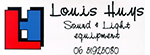Louis Huys Sound & Light equipment